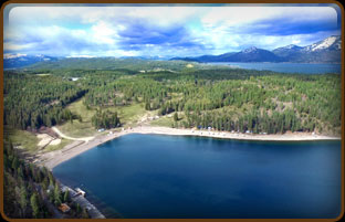 Camp Bay Estate on Lake Pend Oreille