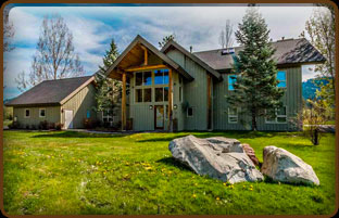 Luxurious Idaho Club Lodge Home