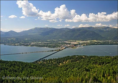 Sandpoint, Idaho and Lake Pend Oreille