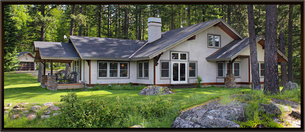 Fine, Private North Idaho View Property on 4.8 Acres