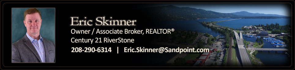 Eric Skinner - Associate Broker for Century 21 RiverStone in Sandpoint, Idaho