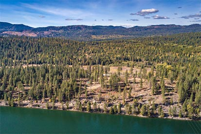 Pend Oreille River view lots