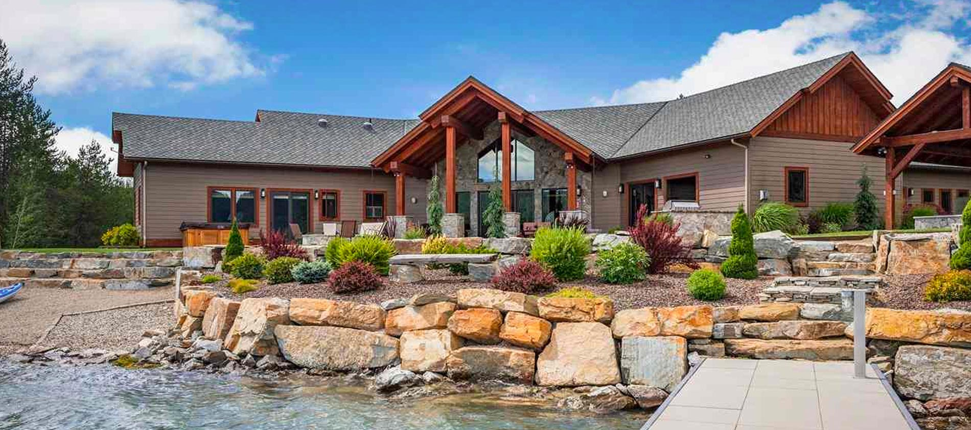 FLATWATER LANDING – Waterfront and Woodlands on the Pend Oreille River