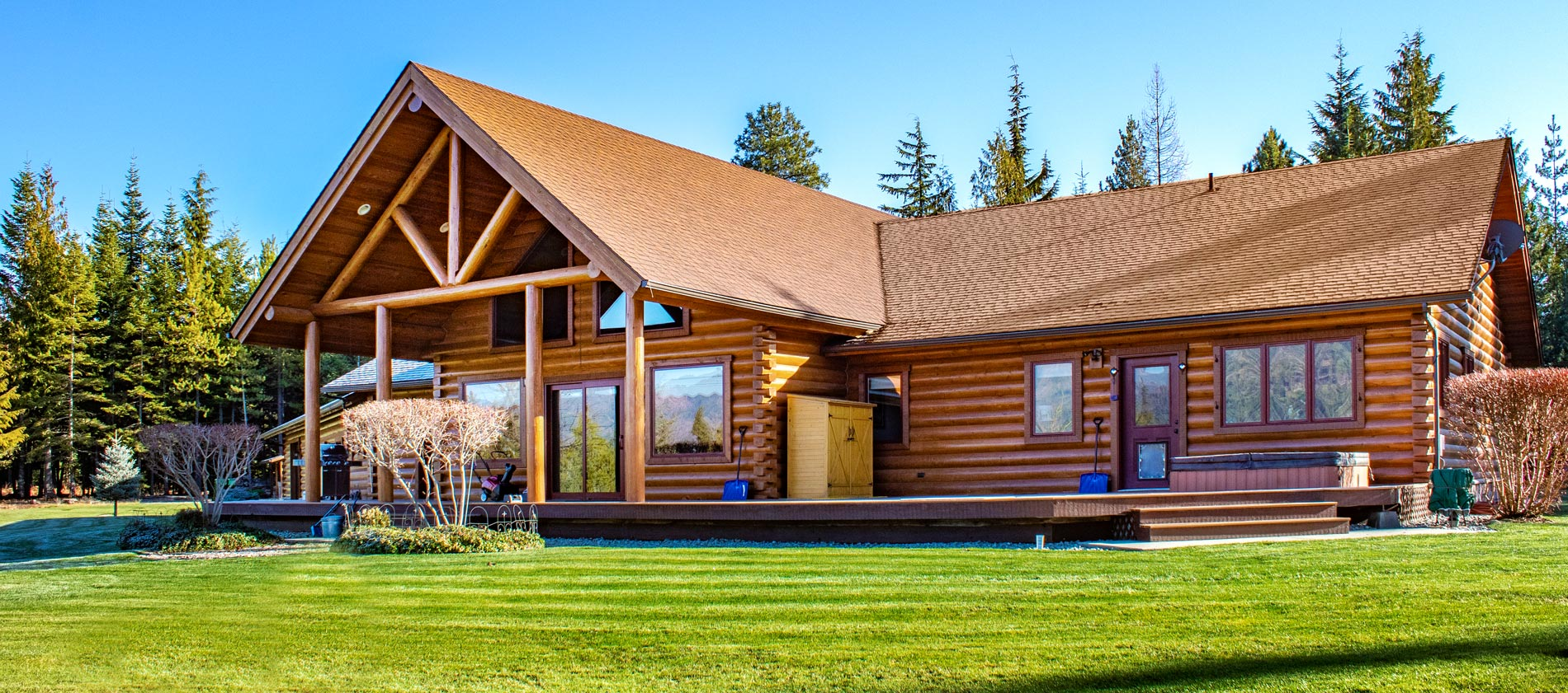 Meadows at Fall Creek Luxury Log Home for Sale