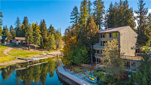 Luxury Waterfront Homes in Sandpoint, Idaho
